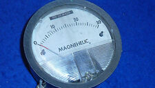 VINTAGE cadran Magnehelic F.W.DWYER MFG USA MICHIGAN Manomètre 0-30 mm water