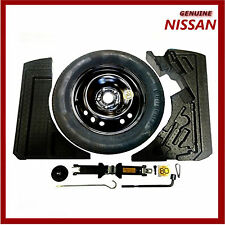 Genuine Nissan Qashqai J11 Space Saver Spare Wheel Kit Inc Tyre. New.