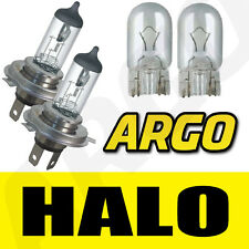 H4 HALOGEN CLEAR 55W MAIN BEAM HEADLIGHT BULBS 12V SUZUKI DR 650 SE (SP46B)