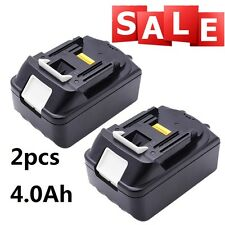 2Pcs Makita BL1840 18V 4.0Ah Power Tools LXT Li-Ion Battery BL1845 BL1830 BL1815