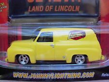 JOHNNY LIGHTNING - WORKING CLASS - (1955) '55 FORD PANEL DELIVERY - DIECAST