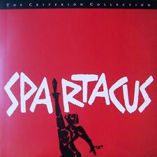 Spartacus, 1960. Starring Kirk Douglas, Laurence Olivier, Criterion Collection