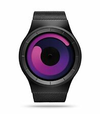NEW Ziiiro Mercury Wrist Watch - Black/Purple