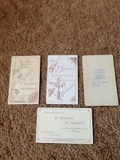 Four Victorian photographs by F Simco of Wellingborough & others
