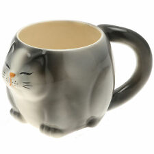 1x Japanese Really BIG Black Cat  Mug #113-165