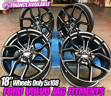"18"" FORD FOCUS NEW RS ALLOY WHEELS MONDEO TRANSIT CONNECT ST ZETEC S/C-MAX 5X108"