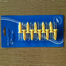 Fine BBQ Corn Holder Fork Twin Prong Sweetcorn Skewers Barbecue Fork 10pcs