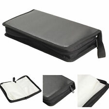 Portable 80 Disc CD VCD DVD Storage Bag Wallet Holder Case Box Organizer Black