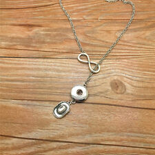 NEW Fashion cowboy hat gift women Necklace fit 18mm noosa snap button BY10