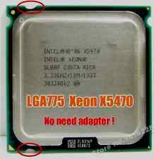 Intel Xeon X 5470 LGA775 = (Core 2 Quad Qx9775)more powerful!!!(3.33ghz) SLBBF)