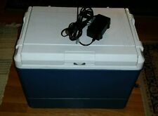 Coleman thermoelectric cooler blue camping refrigerator