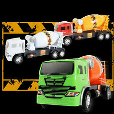 11.5*27CM Concrete Cement Mixer Diecast Car Truck Model Construction Vehicle Toy