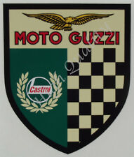 CASTROL MOTO GUZZI  DECAL STICKER DECAL STICKER.   X018
