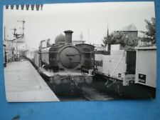 PHOTO  GWR COLLETT CLASS 57XX 0-6-0PT LOCO 3762 AT ABERAVON 5/59