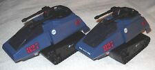 2008 Cobra H.I.S.S. (BLUE Tank) (LOT OF 2) - GI Joe vehicle - 100% complete