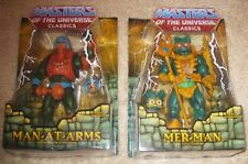 He-Man Masters Of The Universe Classics Man-At-Arms & Mer-Man (Damaged)