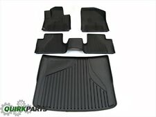 2014-2016 JEEP CHEROKEE ALL WEATHER FRONT AND REAR SLUSH MATS WITH CARGO TRAY