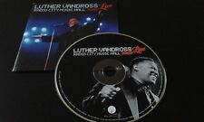 CD LUTHER VANDROSS - RADIO CITY MUSIC HALL 2003 LIVE / TOP