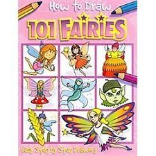 How to Draw 101 Fairies by Top That Publishing (2008, Paperback)