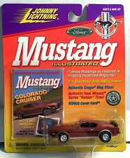 1972 FORD MUSTANG COUPE 1999 Johnny Lightning Mustang Illus 1:64 Diecast MIP!