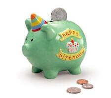 Piggy Bank /Money Box - children's Happy Birthday  Russ Berrie  BNIB