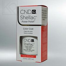 CND Shellac Soak-Off Gel Color Polish Studio White - 7.3 mL / 0.25 oz - 40526