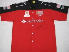 FERNANDO ALONSO Hand Signed Race Shirt