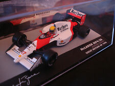 AYRTON SENNA MP4/5B Mclaren MARLBORO Mini Honda f1 1990 Ixo Legends champs 1:43