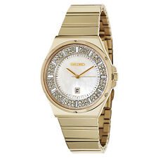 Seiko SXDG14 Yellow Gold Stainless Steel Japan Quartz Women's Watch