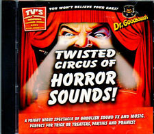 Dr. Goodsound's HALLOWEEN: TWISTED CIRCUS OF HORROR SOUNDS & CARNIVAL MUSIC! OOP