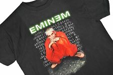 XL vtg 90s Eminem Criminal Concert Tour T Shirt Rap Tee HIP HOP Mens 1999