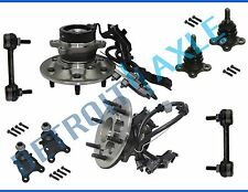 New 8pc Front Wheel Hub & Bearing Suspension Kit w/ ABS for Colorado Canyon RWD