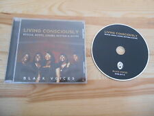 CD Ethno Black Voices - Living Consciously (9 Song) BLACK VOICES