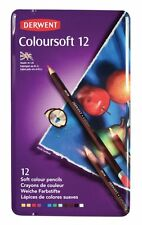 Derwent Coloursoft 12 Pencil Tin