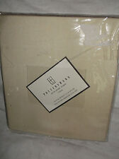 "1 POTTERY BARN VOILE SHEER DRAPE/CURTAIN PANEL 44""X96"" BEIGE/IVORY POLE POCKET"