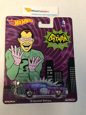 Batman TV Series * '70 Chevelle Delivery 2015 HotWheels Pop Culture Case C * L22