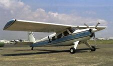 Helio H-295 Super Courier Utility Aircraft Mahogany Wood  Model Small New