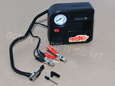 Motorcycle 12V Compact Portable Mini Tyre Battery Air Compressor Inflator Pump