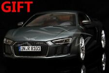 Car Model Audi R8 V10 Plus Coupe Sport 1:18 (Grey/Black) + SMALL GIFT!!!!!!!!!!!