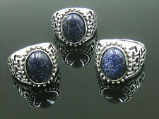 Fashion wholesale lots 5pcs Stone&silver Plated Women's rings