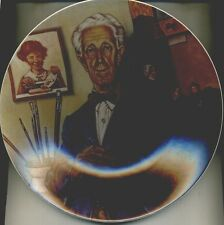 NORMAN ROCKWELL 1978 TRIBUTE COLLECTOR PLATE