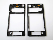 Genuine Sony Xperia Z1 C6902 C6903 C6906 Back Glass Supporting Frame Black GradA