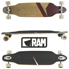 Longboard Skateboard Dancer Komplettboard Board RAM Lokz Chestnut 22279