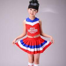Girls High School Musical Cheerleader Costume Dancer Outfit Uniform Fancy Dress