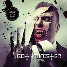 Utopia - Gothminister (2013, CD NEUF) Explicit Version2 DISC SET
