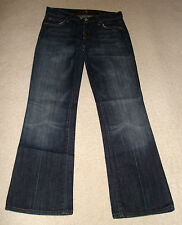 7 FOR ALL MANKIND JEANS SIZE UK 8 W 26 L 29.5 RRP £180