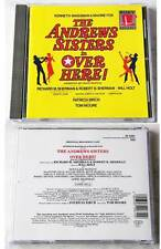 The Andrews Sisters Is Over Here - American Big Band Musical .. 1994 Sony CD TOP