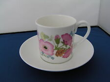 WEDGWOOD MEADOW SWEET LARGE COFFEE CUP/CAN AND SAUCER.