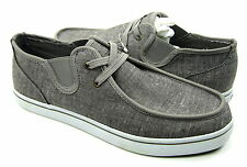 Lugz Shoes Sparks Lo Slip On Laceless Denim Stone Grey Sneakers Size 9 EUR 42.5