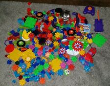 Construction Toys Building Gears Educational Children Developmental 250mixed Lot